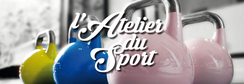 L'atelier du sport | poids et logo